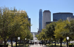 Austin Street View. Austin Texas Downtown Street View Stock Images