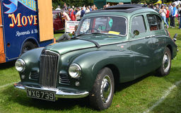 Austin Sunbeam Talbot 90 classic vintage car Royalty Free Stock Image