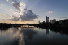 Austin Sunset Royalty Free Stock Photography