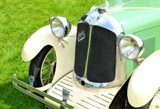 Austin Swallow vintage car detail Royalty Free Stock Photo
