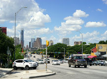 Austin, Teksas - kongres śródmieście obrazy stock