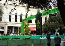 Austin, Teksas maraton Obrazy Royalty Free