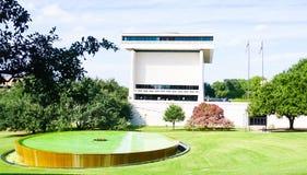 AUSTIN TEKSAS WRZESIEŃ 17, 2017: Lyndon b Johnson LBJ muzeum w Austin i biblioteka, Teksas Zdjęcie Stock