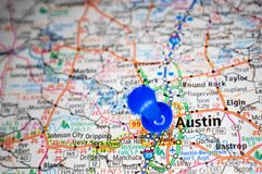 Austin, Texas royalty-vrije stock foto's