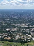 Austin Texas from above Royalty Free Stock Photo