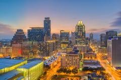Austin, Texas, arquitetura da cidade dos EUA imagem de stock royalty free