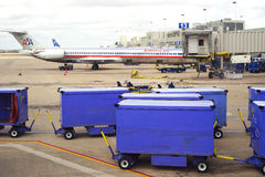 Austin, Texas busy with baggage and flights Royalty Free Stock Photography