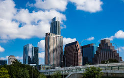 Austin Texas Capital Cities Downtown Urban Skyline Stock Image