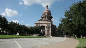 Austin Texas Capitol Building stock footage