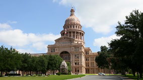 Austin Texas Capitol Building stock video footage