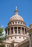 Austin Texas Capitol Dome. The dome on top of the Texas Capital building in downtown Austin, Texas, USA Stock Photos