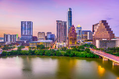 Austin, Texas, de V.S. Stock Foto's