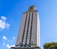 AUSTIN, TEXAS, DE V.S. - 17 SEPTEMBER, 2017: De Toren bij de Universiteit van Texas Stock Afbeeldingen
