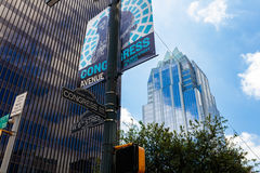 Austin Texas del centro fotografia stock