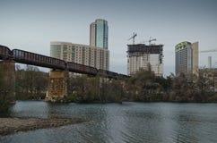 Austin Texas do centro Fotografia de Stock Royalty Free