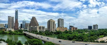Austin Texas do centro Imagem de Stock