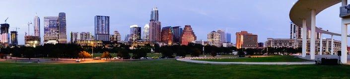 Austin Texas Downtown City Skyline Urban-Panoramische Architectuur Royalty-vrije Stock Foto's