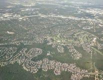 Austin Texas från över Arkivbilder