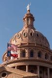 Austin Texas Government Building Blue Skies de construção principal Fotografia de Stock Royalty Free