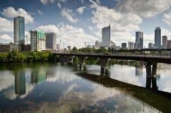 Austin Texas-horizon de van de binnenstad Royalty-vrije Stock Fotografie