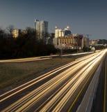Austin Texas by night Royalty Free Stock Photos