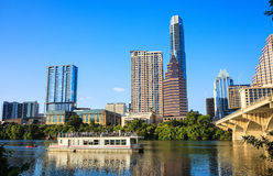 Austin Texas Riverboat Stock Image