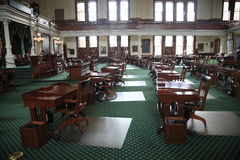 Austin Texas Senate Chamber Royalty Free Stock Photos
