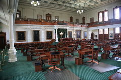 Austin Texas Senate Chamber Royalty Free Stock Images