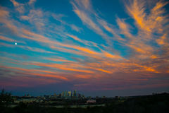 Austin Texas Skyline Cityscape Fotografie Stock Libere da Diritti