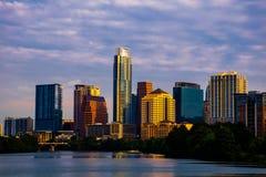 Austin texas skyline cityscape morning sunrise Royalty Free Stock Images