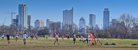 Austin Texas skyline Stock Images