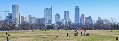 Austin Texas skyline Royalty Free Stock Photography