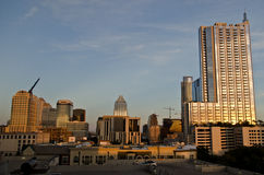 Austin Texas during sunset Royalty Free Stock Photos