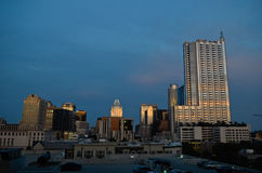 Austin Texas at sunset Royalty Free Stock Photo