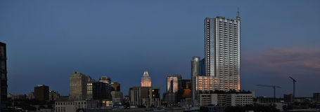 Austin Texas at sunset Royalty Free Stock Images