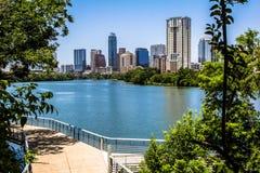 Austin Texas Trail med sikt Royaltyfria Bilder