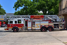 Austin.Texas in United States of America - August 2015.Fire truc royalty free stock image