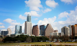 Austin, TX. Austin, Texas, January 1st, 2017: Austin, Texas, USA downtown skyline on the Colorado River.Austin is the capital of the U.S. state of Texas. It is Royalty Free Stock Image