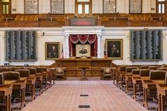 Austin, TX/USA - cerca do fevereiro de 2016: Casa da câmara dos representantes em Texas State Capitol em Austin, TX Foto de Stock
