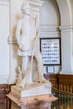 Austin, TX/USA - cerca do fevereiro de 2016: Stephen Fuller Austin Statue Monument dentro de Texas State Capitol em Austin, TX Foto de Stock Royalty Free