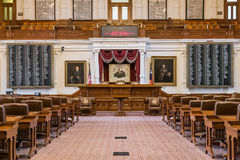 Austin, TX/USA - circa February 2016: House of Representatives Chamber in Texas State Capitol in Austin,  TX Stock Photo