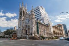 Austin, TX/USA - circa im Februar 2016: St. Mary Cathedral in Austin, TX Stockfotografie