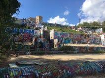 Austin ulicy sztuka Zdjęcie Royalty Free