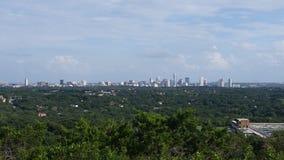 Austin From una distancia Imágenes de archivo libres de regalías