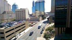 Austin van de binnenstad Stock Afbeeldingen