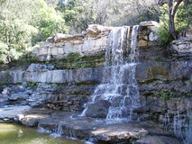 austin vattenfall Arkivfoto