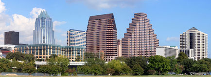 austin w Texasie Fotografia Royalty Free