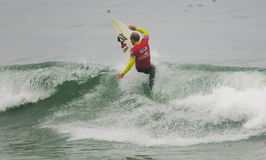 Austin Ware (USA) in ASP World Qualifier Royalty Free Stock Photo