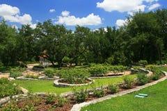 Austin Zilker Taniguchi Gardens in Austin Lizenzfreie Stockfotos