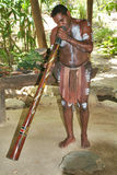 Austrália, aborígene Imagem de Stock Royalty Free